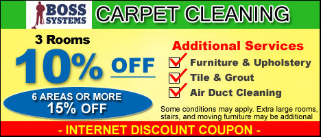 Carpet Cleaning Specials Boss Systems